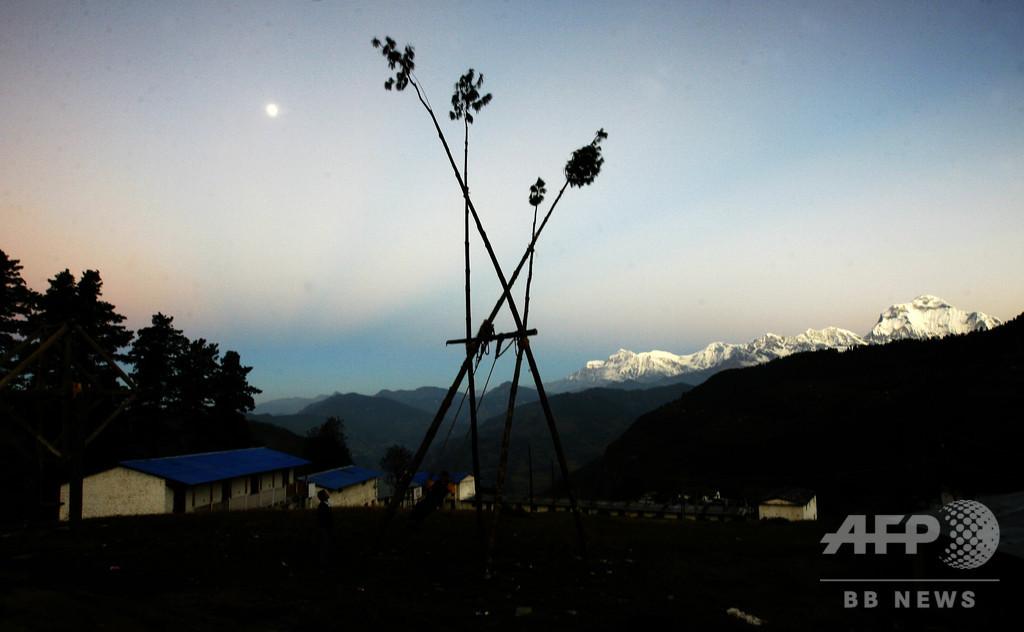ネパール西部の山で韓国人遠征隊員ら9人死亡、猛吹雪襲う