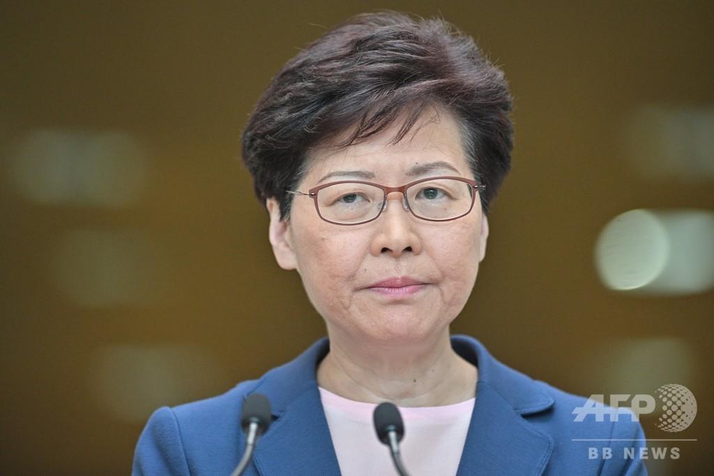 香港行政長官、「逃亡犯条例」改正案は「死んだ」