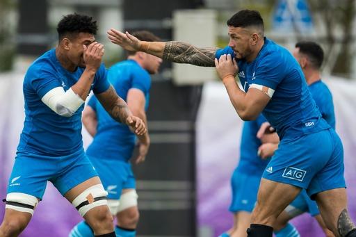 NZがW杯アイルランド戦のメンバー発表、ソニー・ビルはベンチスタート
