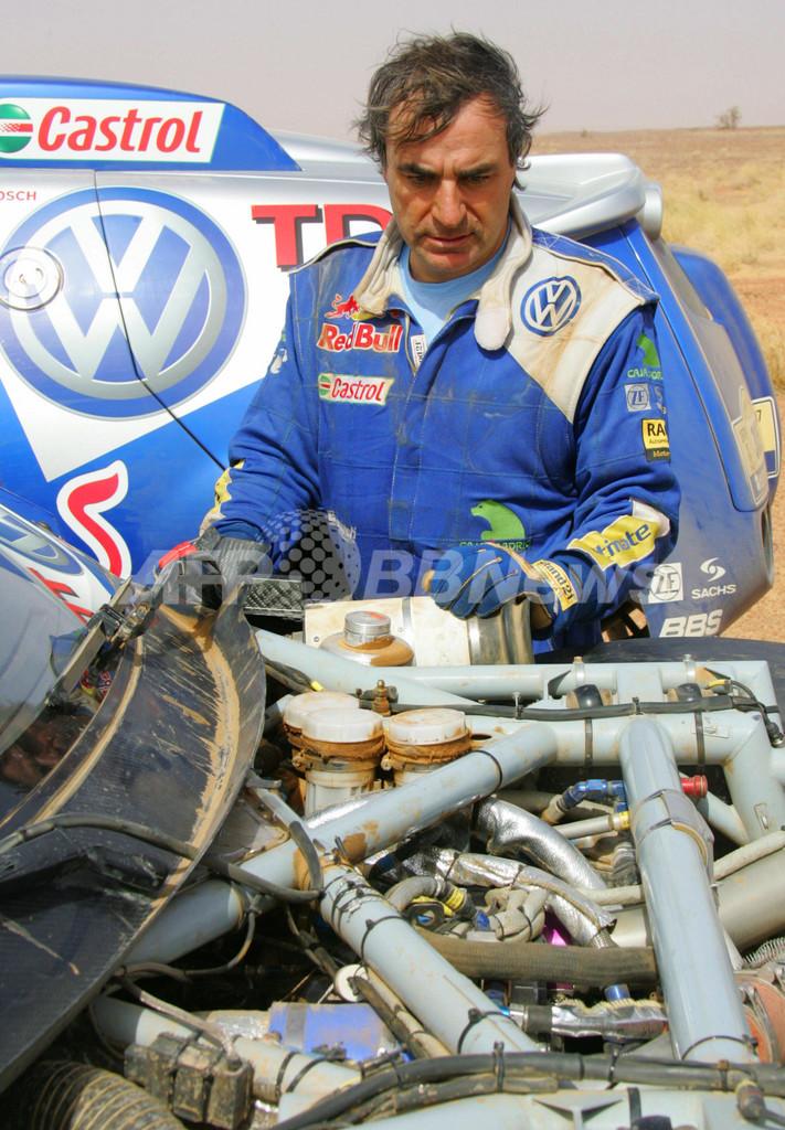 <ダカールラリー2007>サインツ 第9ステージを94位で終え総合10位に後退 - モーリタニア
