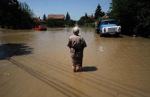 ブルガリアで洪水、2人死亡