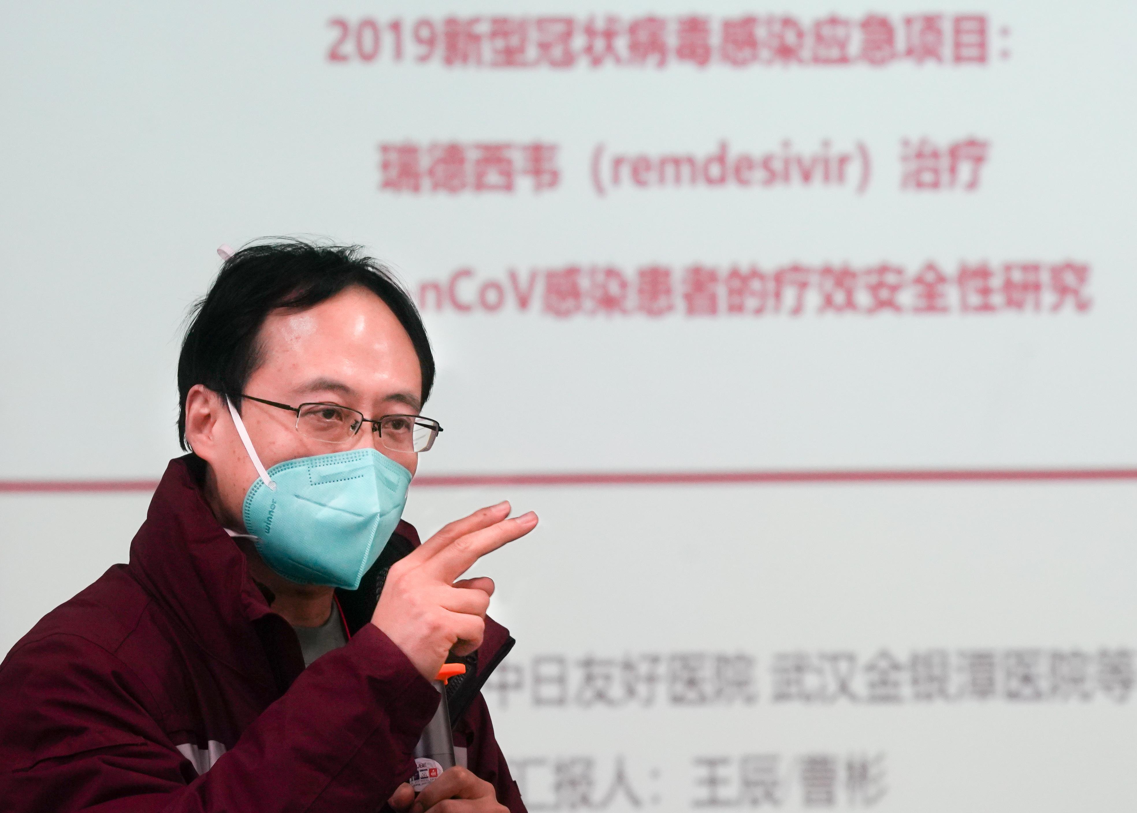 新型肺炎の抗ウイルス薬レムデシビル、武漢で臨床試験開始へ