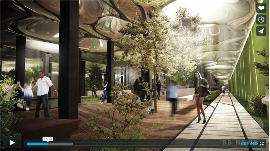 世界初の「地下公園」、ニューヨークに2018年完成予定