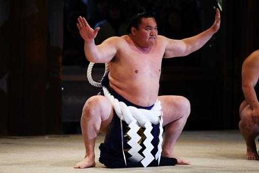 白鵬と鶴竜が新春恒例の奉納土俵入り、大相撲