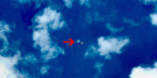 中国衛星が南シナ海で浮遊物3点発見、不明マレーシア機か