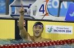 瀬戸が男子200mバタフライで金、平井が銀 アジア大会