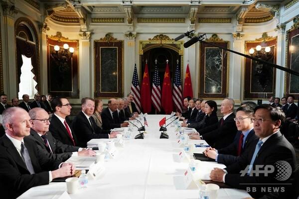 米中貿易協議、新華社通信も「大きな進展」と報道