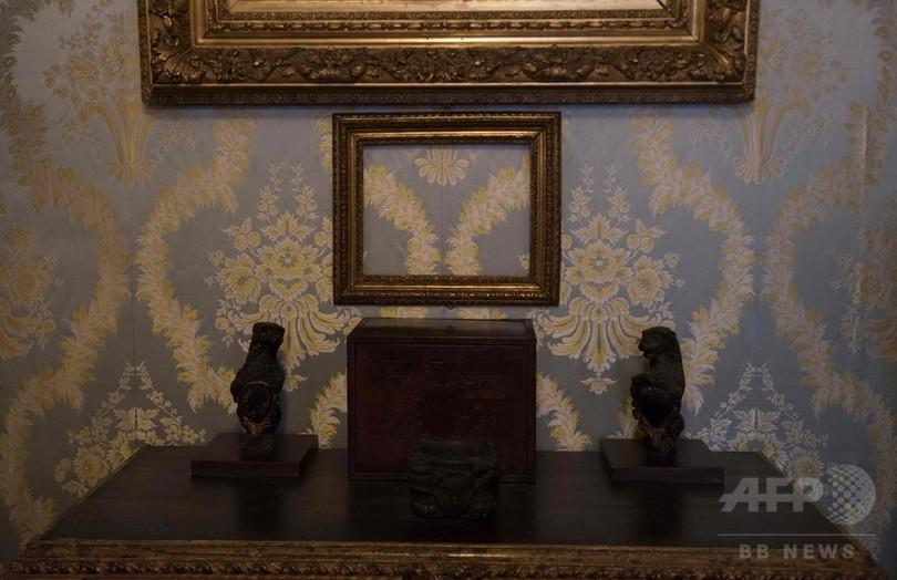 米史上最大規模の美術品盗難事件、懸賞金11億円 31日に期限