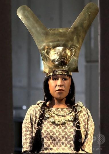 1700年前の女性統治者、最新技術で顔を再現 ペルー