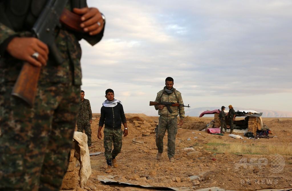「シリア北部のマスタードガス使用はIS」在英監視団体