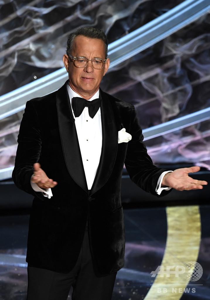 米俳優トム・ハンクスさん夫妻、新型コロナに感染