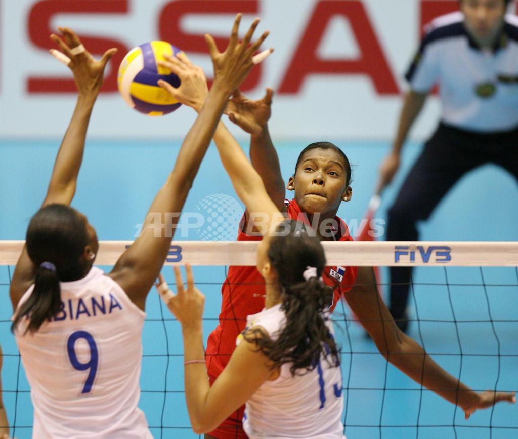 ブラジル ドミニカ共和国をストレートで破り7勝目