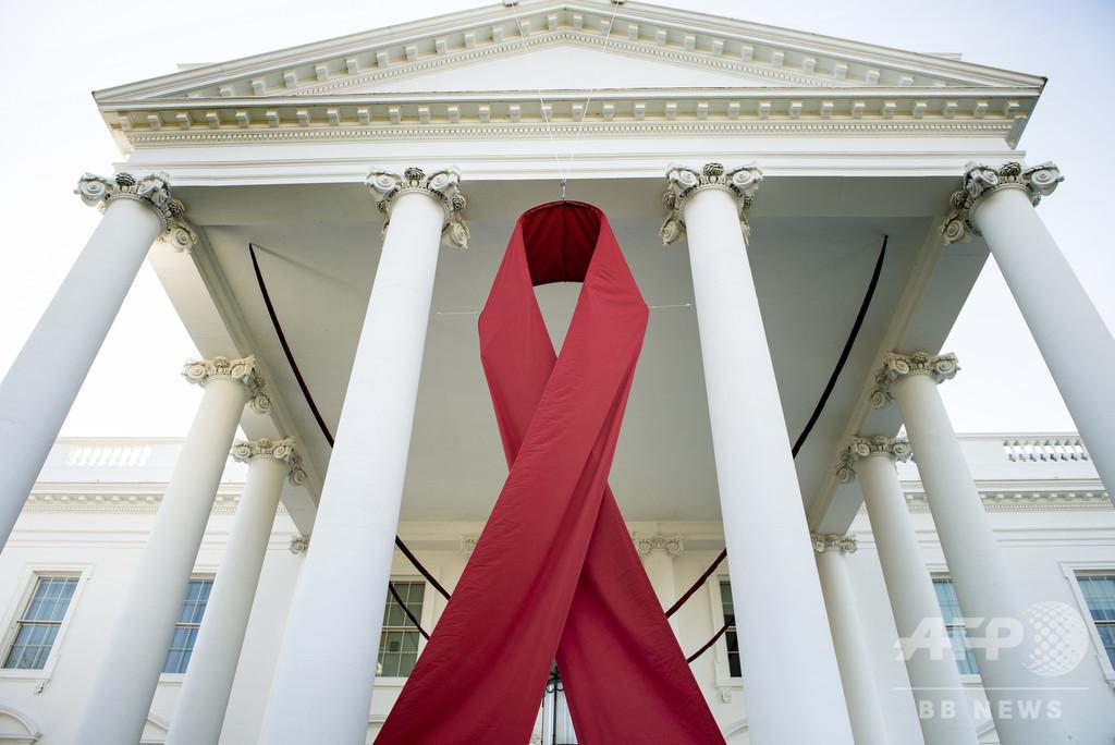 HIV陽性に気付いていない人からの感染が約4割 米CDC報告書