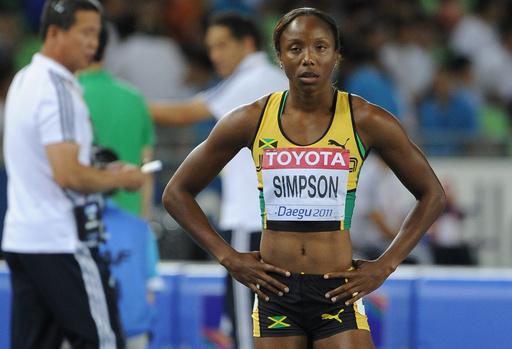 五輪メダリストのシンプソンに18か月の出場停止処分