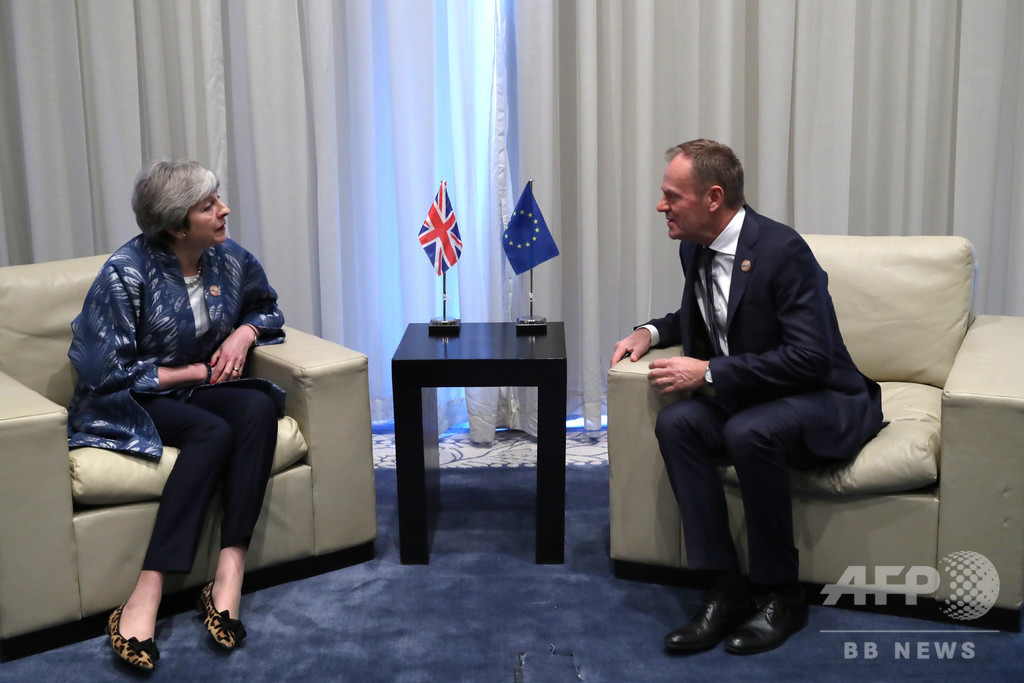 EU大統領、ブレグジットの「大幅延期あり得る」との見解示す