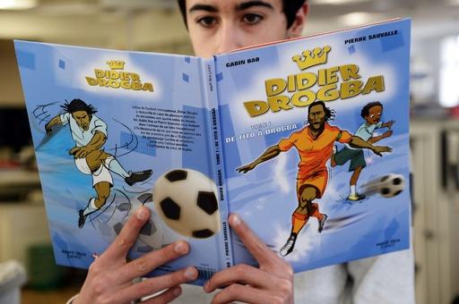 ドログバの自伝漫画がフランスで出版
