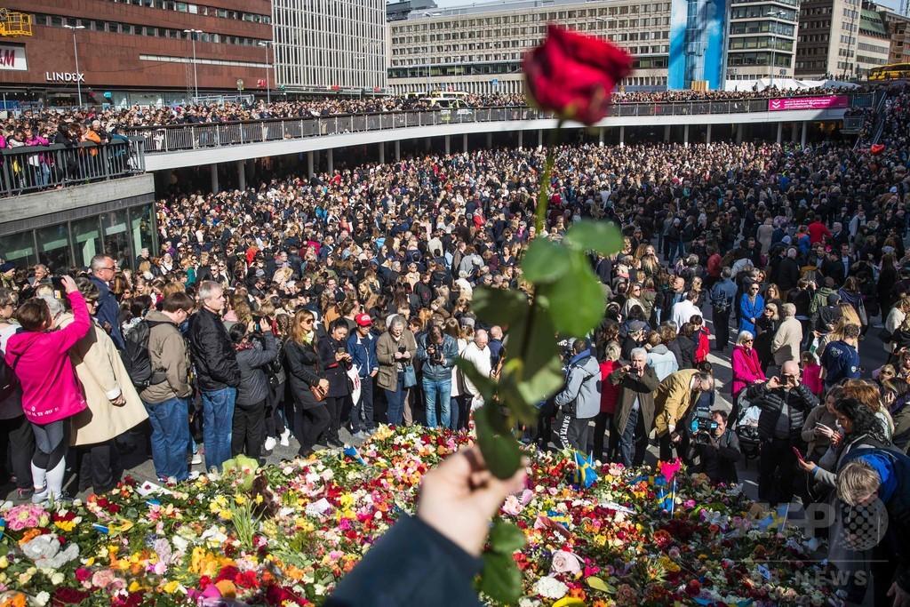 スウェーデンのトラック暴走、容疑者はISに「共感」 警察