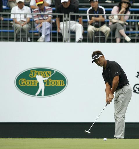 UBS日本ゴルフツアー選手権2008・初日 久保谷が首位スタート