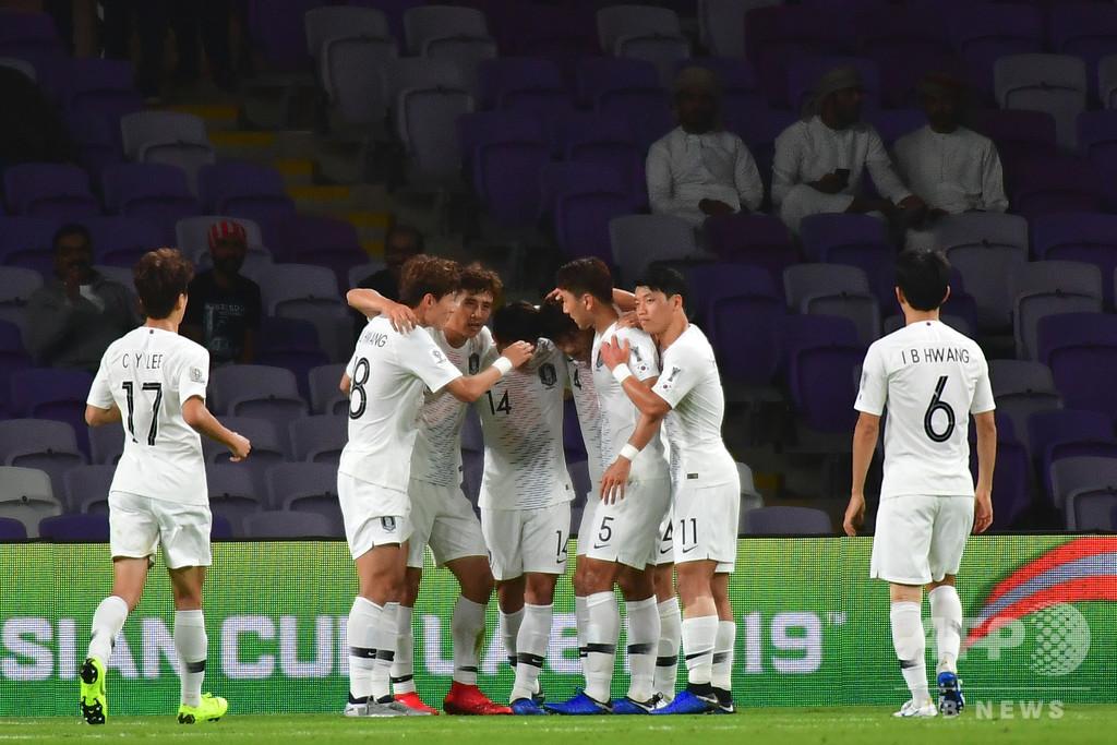 韓国と中国がアジア杯16強入り、勝ち点6で並びグループCの頂上決戦へ