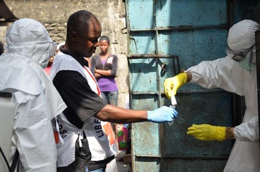 リベリアのエボラ出血熱患者5人に、国連発表