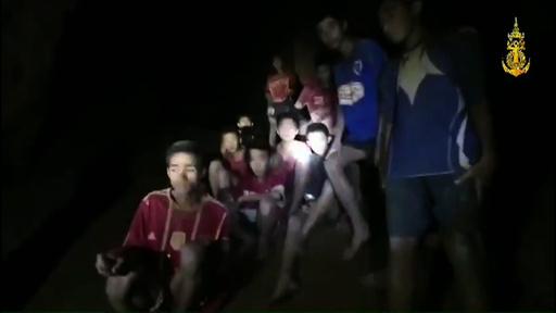 タイ洞窟閉じ込め、軍が4か月分の食料搬送へ ダイビングの訓練も