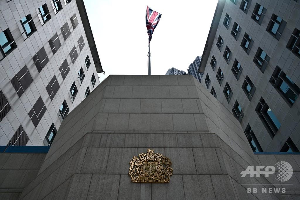 中国、在香港英総領事館職員の拘束認める 「国内問題」と主張