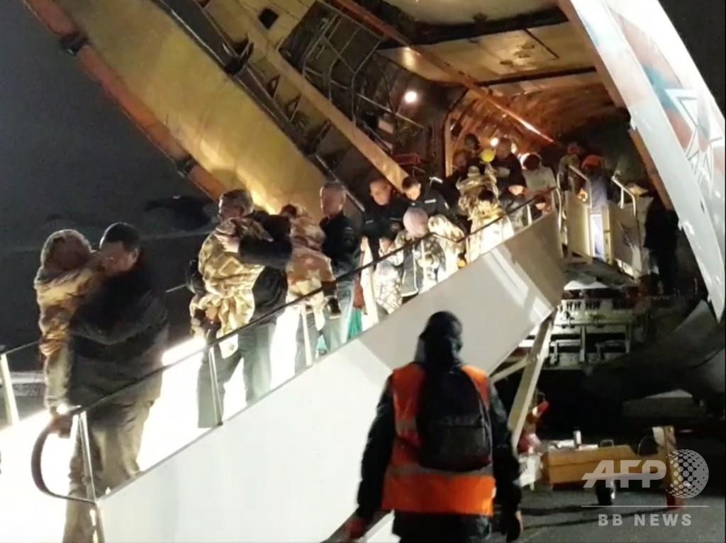 IS構成員のロシア人の子ども27人が「帰国」 母親は今もイラクで拘束下に