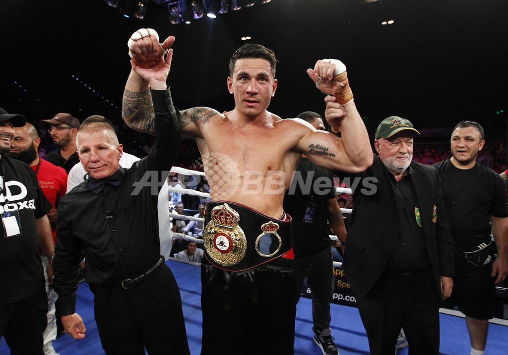 オールブラックスのウィリアムズ、ボクシングでタイトル獲得