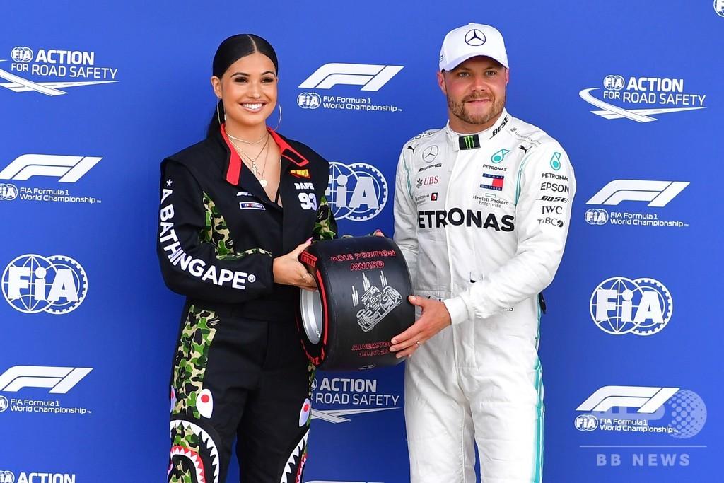 ボッタスが僅差でポール獲得、メルセデスが最前列独占 英国GP