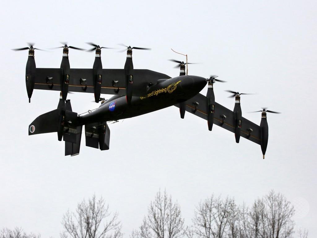 垂直離着陸が可能な無人機「GL-10」、NASAが写真公開