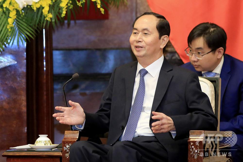 ベトナムのクアン国家主席が死去 61歳