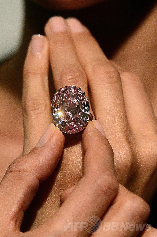 史上最高額のピンクダイヤ、代金支払えず買い戻しに 写真1枚 国際ニュース:afpbb News