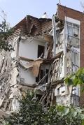 スペイン首都でアパートが崩壊、危機一髪で住民避難