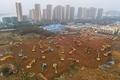中国・武漢に1000床の新病院、10日間で建設 新型肺炎治療に特化