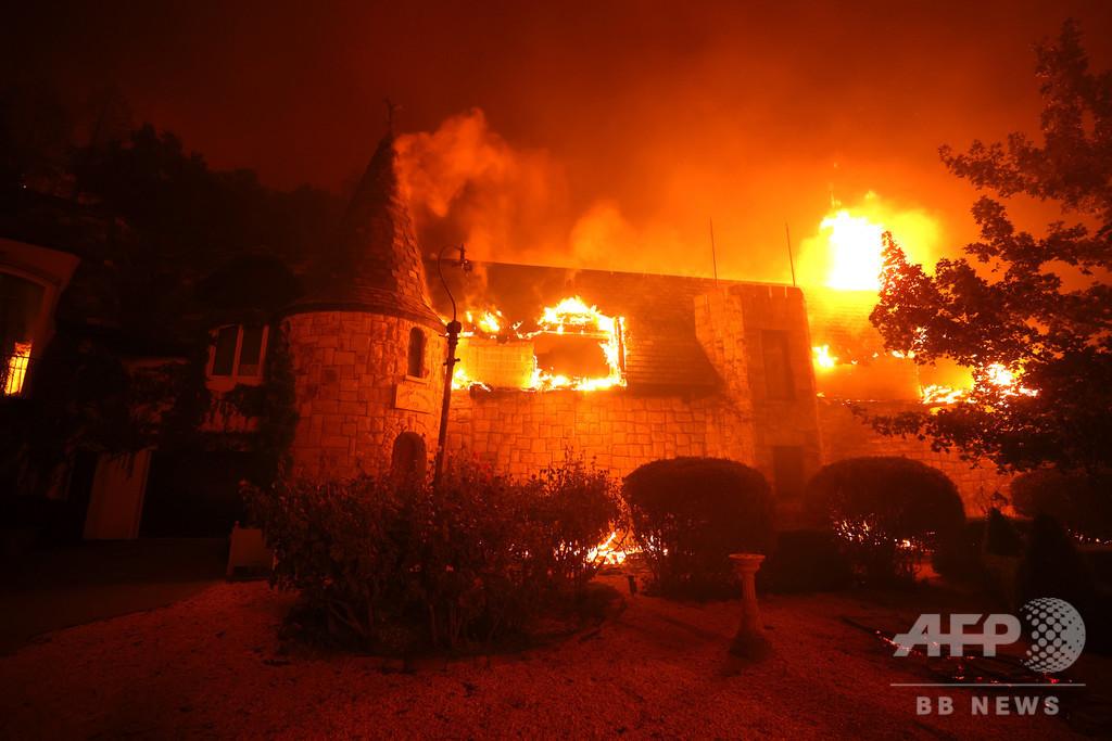 夢のワインルートが灰に…米ナパバレー山火事、有名ワイナリーも焼失