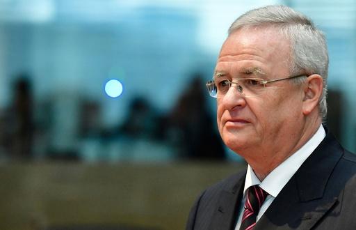 VW元CEOを排ガス不正問題で起訴 ドイツ検察