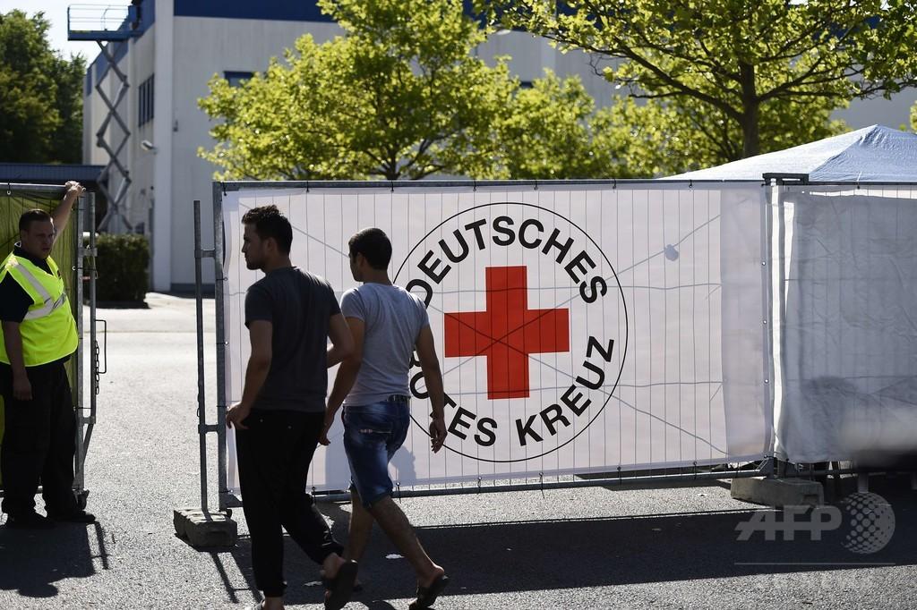 ドイツの難民施設2か所に襲撃
