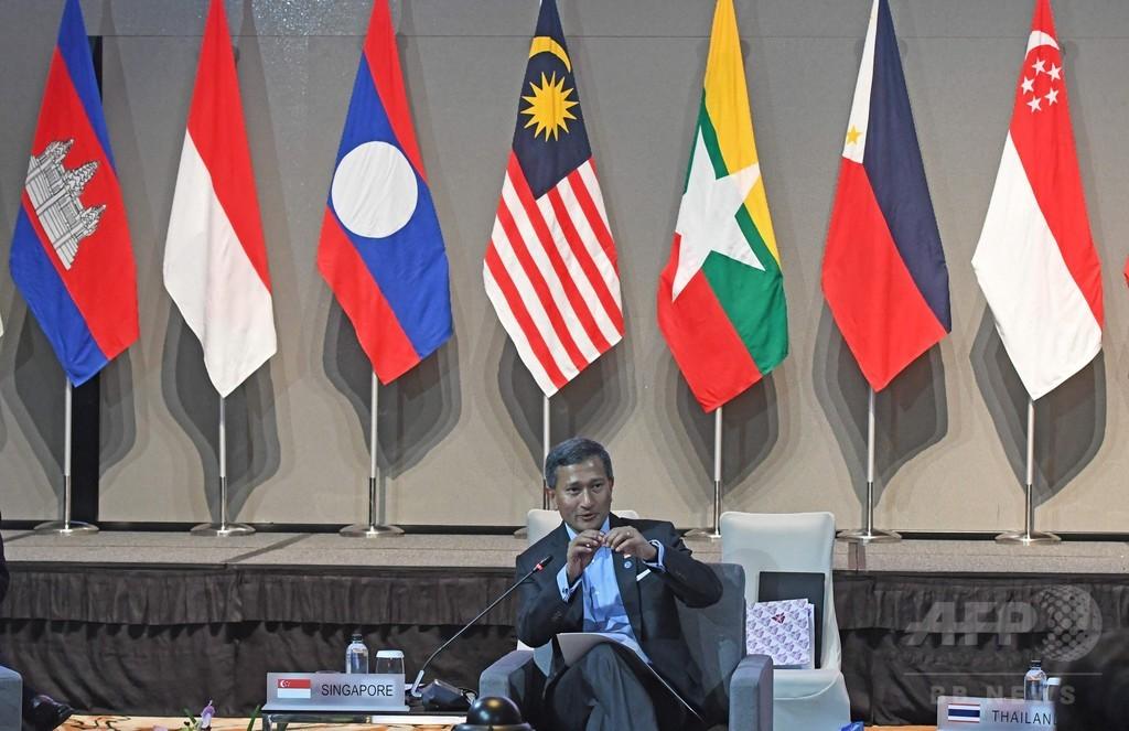 中国の南シナ海埋め立てに「懸念」 ASEAN外相会合