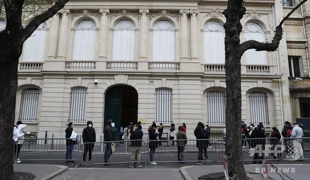 新型コロナ発生源は「米国」、在仏中国大使館が示唆