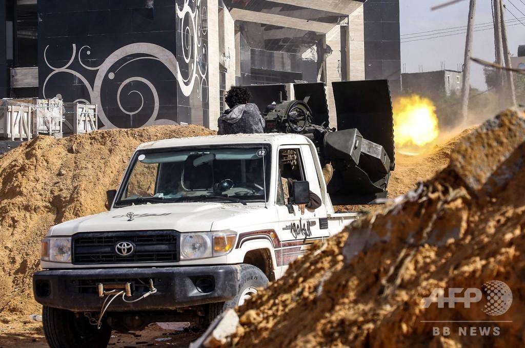 リビアで首都争奪戦激化、対応めぐり国連が緊急会合