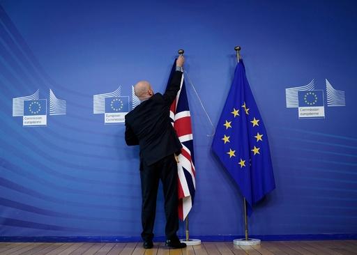 EU・英、離脱交渉で合意 EU首脳らに提出へ