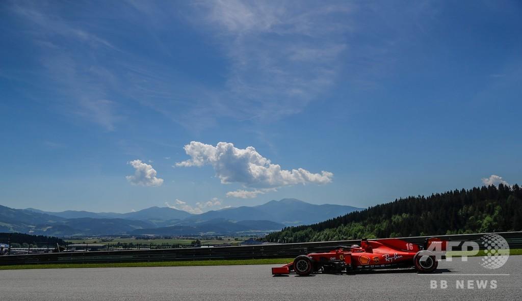 フェラーリのルクレール、コロナ対策違反で警告