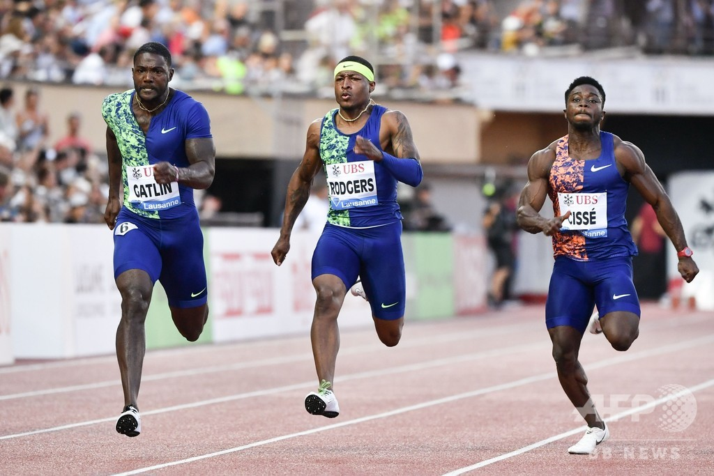 ライルズが世界歴代4位タイムで男子200m制覇、ダイヤモンドリーグ