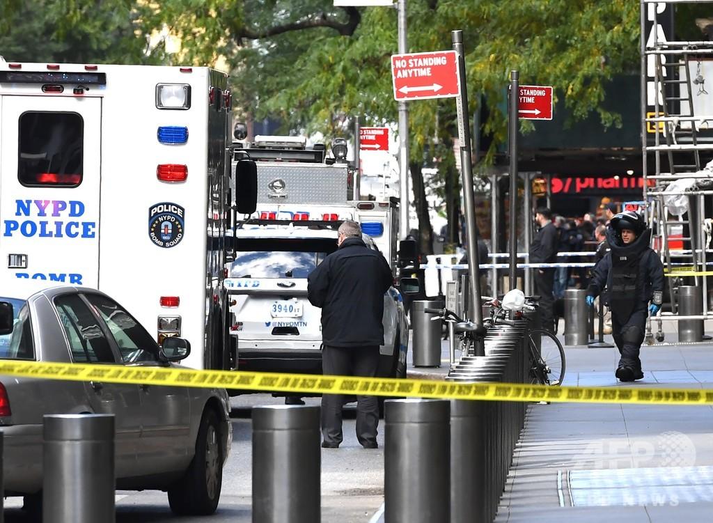 米CNNのNY支局に爆弾仕掛けたと脅迫電話、従業員ら避難