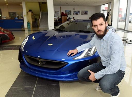 世界が絶賛、クロアチアの起業家が生んだ電動スーパーカー