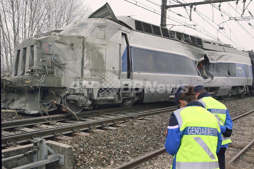 仏TGVがトラックと衝突、1人死亡、35人負傷