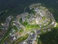 深セン東部華僑城 空からの景色