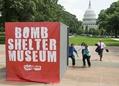 「ガザからの攻撃」防ぐシェルター、米首都でアート作品展示