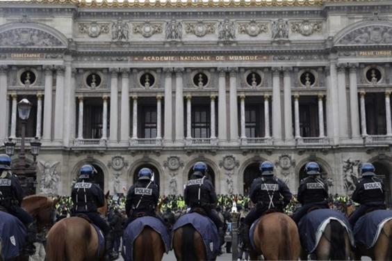 仏「黄色いベスト」運動、5週連続で実施