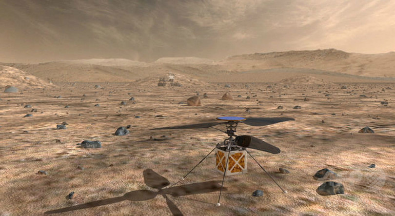 NASA、「火星ヘリコプター」計画を発表